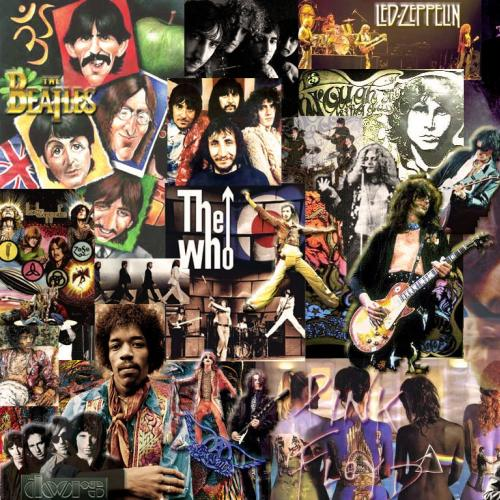 Image result for top rock artists collage