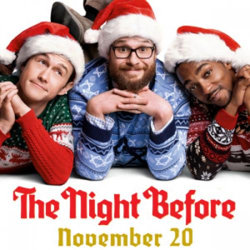 Seth Rogan Christmas.The Night Before Motion Picture Soundtrack Spotify Playlist