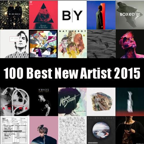 Top 100 Spotify Playlists Chart 2015